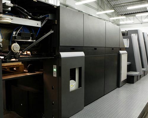 全自动高速水墨印刷机