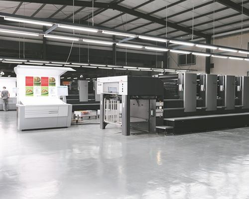 画册印刷设备