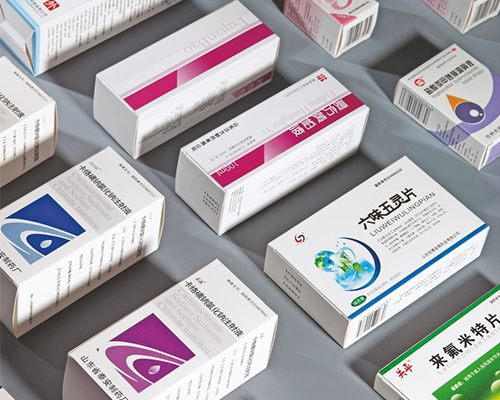药品盒印刷